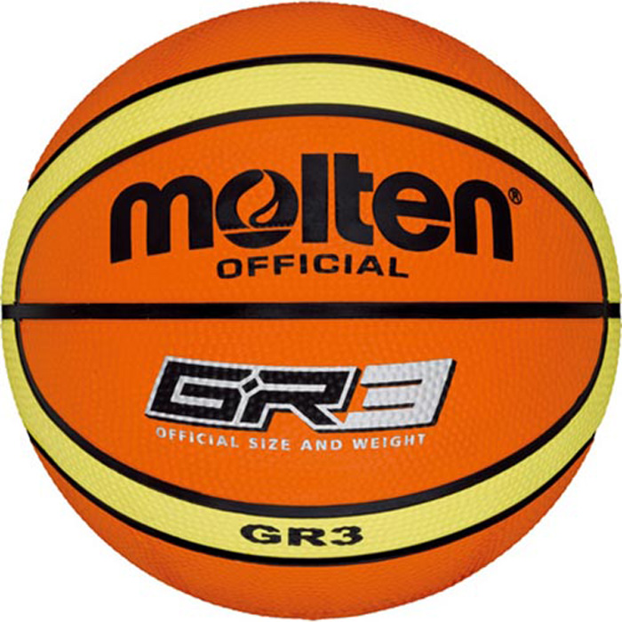Molten BGR3 Basketbol Topu No3 indoor-outdoor Antrenman Topu
