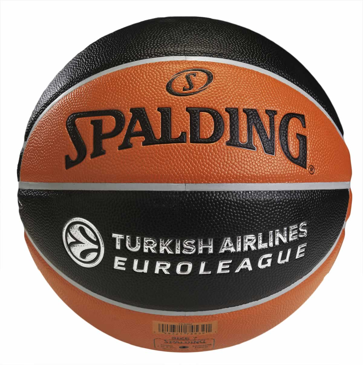 Spalding TF-500 Turkish Airlines Euroleague Basket Topu No:7