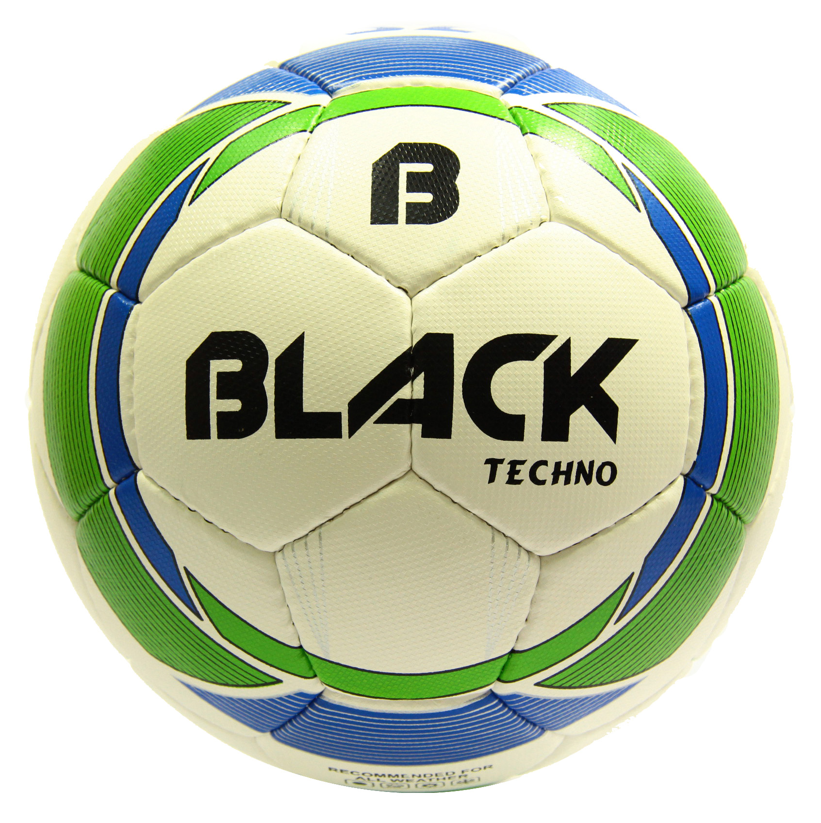 Black Techno Futbol Topu No 5